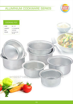 Aluminium Cooking Pots Heavy