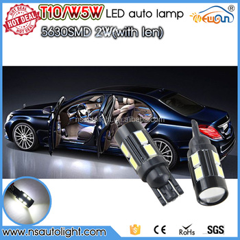 High quality t10 led canbus auto interior led light 10smd