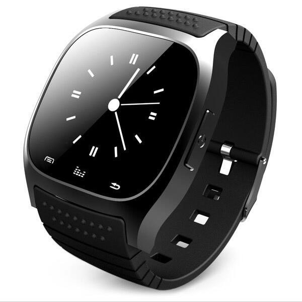 <strong>Hot</strong> in 2017 fitness smart watch M26 smartwatch phone with LED touch screen pedometer for android xiaomi phone