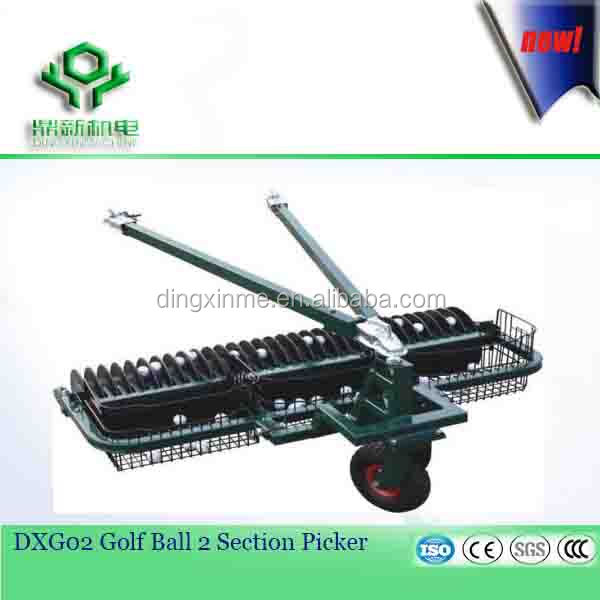 Golf Course 2 Section Range Golf Ball Picker