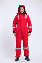 High Quality FR Cotton Freezer Suits