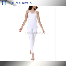 Women Sport Yoga Bandage Catsuit Jumpsuits Rompers Teddies Bodycon Dress S-XL