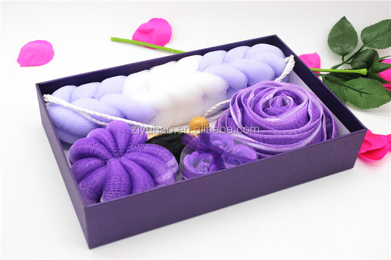 Morden bath body accessory works sets wholesale,bath travel spa sets