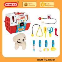 Latest best selling doctor set toy education toys with dog for kids