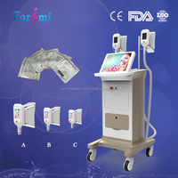 medical TPU handle freezing fat cell slimming machine /fat loss machine