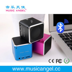 Music Angel SD/TF card download wireless bluetooth mini portable speaker