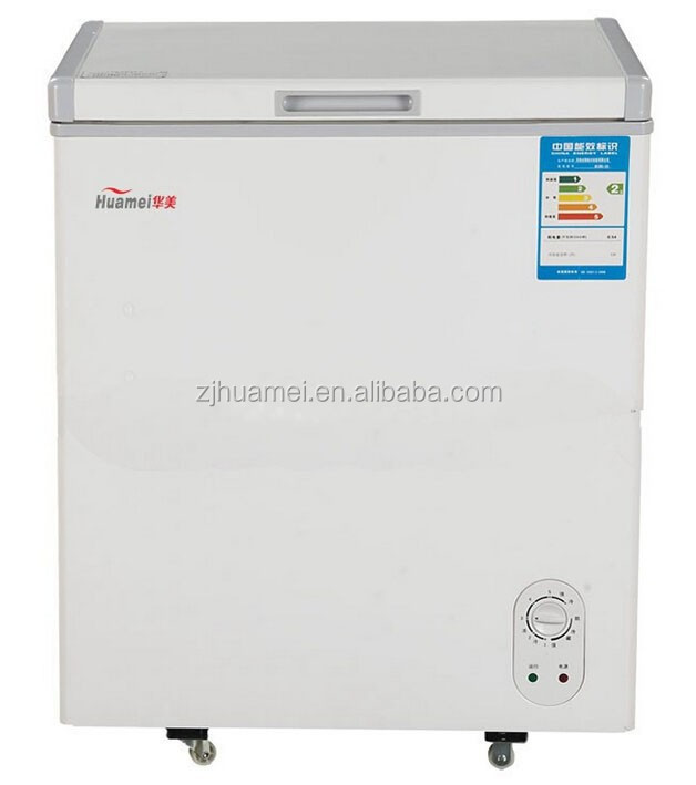 120L Small Flat Bottom Chest Freezer