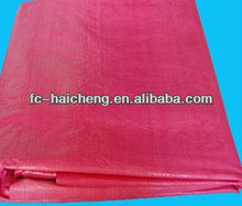 waterproof hdpe tarpaulin fabric in roll.ldpe coated woven fabric.bag fabric