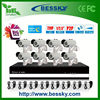 Cheap DIY Bullet ip cctv camera kit video security camera system 2mp ip camera