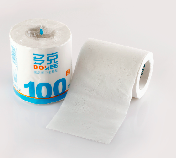 2ply recycled wholesale bamboo pulp tissue paper toilet roll