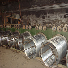 low carbon iron wire rod made BWG14 hot dipped galvanized iron wire