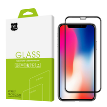 Best Sale 5D Curved Full Cover Tempered Glass Screen Protector for iPhone X 4D Including Packing
