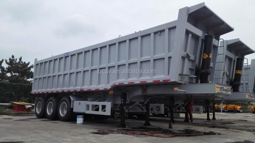 45CBM Tipping trailer with three axles