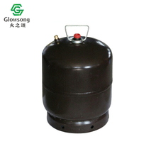 Clear transparent 3kg mini empty gas cylinder price