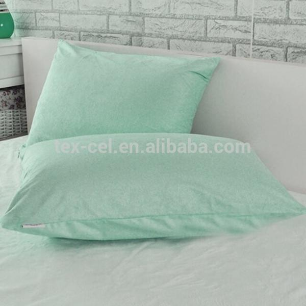 OEM Avaliable Green Terry Waterproof& Bed Bugproof Pillow Case Cover