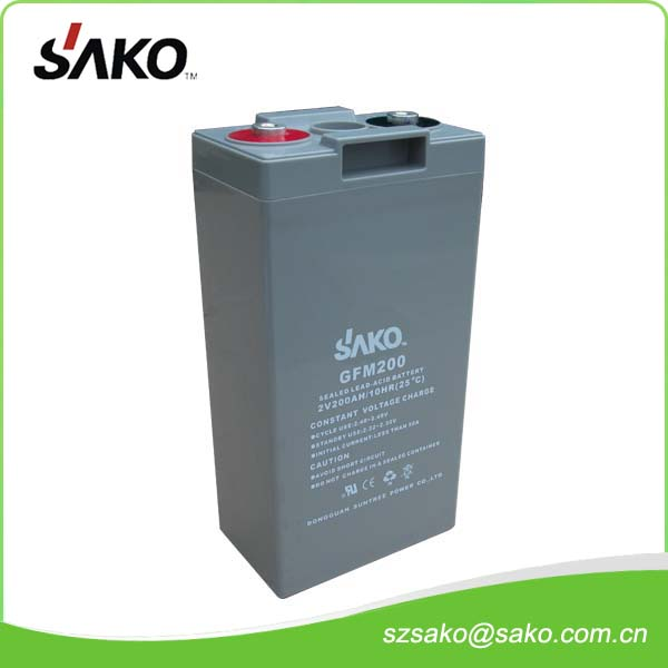 2V600AH Sealed Lead-acid Battery with 18 Months Quality Warranty And Low Price