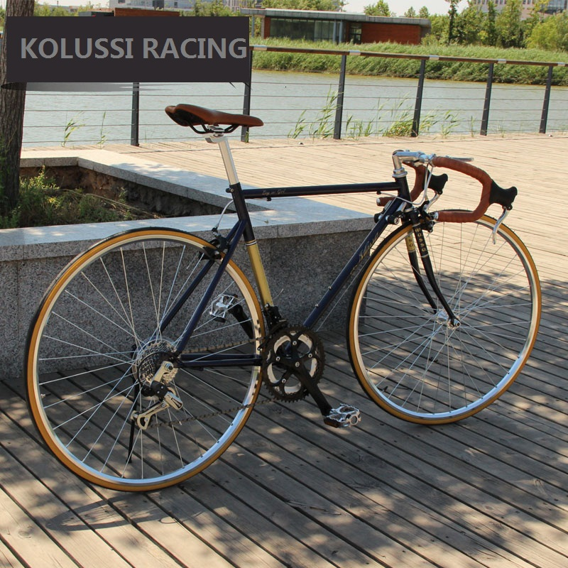 kolussi road bike 700c speed racing cycle cheap light <strong>bicycle</strong>