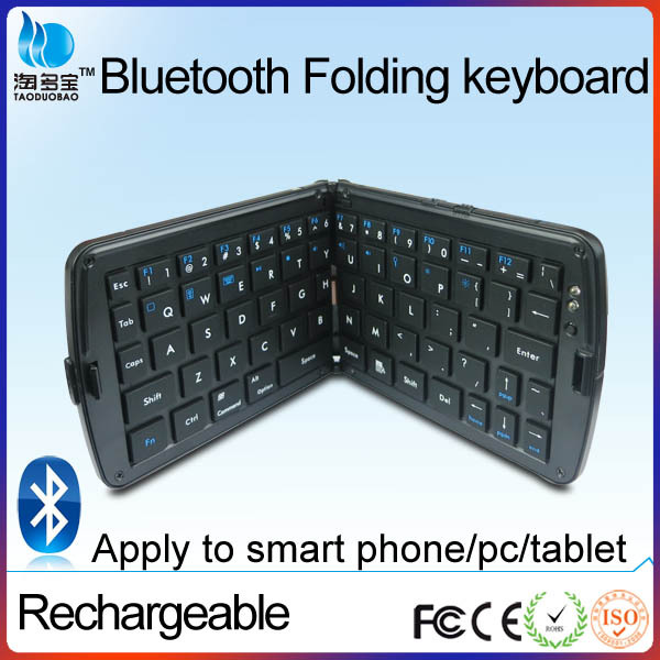 bluetooth mini folding wireless keyboard for laptop pc ipad