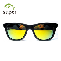 2016 Hot Sale Wholesale Promotional Cheap China Custom Logo Mirrored Sunglasses