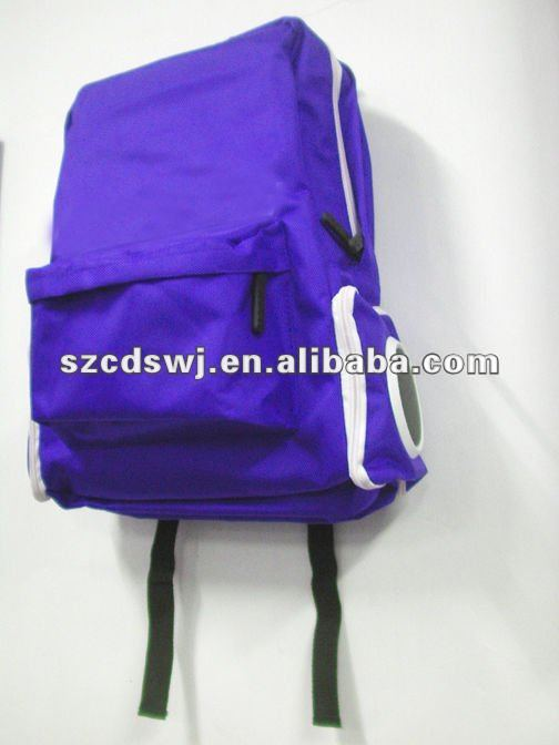Backpack radio bag with high sound quality speaker