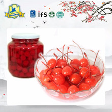 IFS,BRC,HACCP,ISO,KOSHER certificate Fresh fruit canned whole cherries