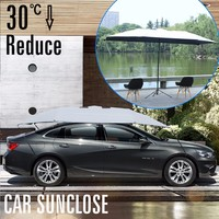 SUNCLOSE waterproof car paint plastic film cover car cover small