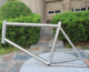 titanium road bike frame custom Titanium inner line bike frame design titanium cyclocross bike frame