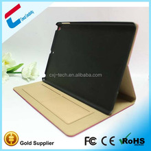Fashionable pu leather belt clip case for ipad mini