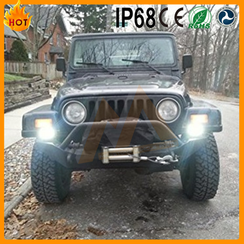 Most Popular High Bright off road vehicle 18W 4x4 led light bar