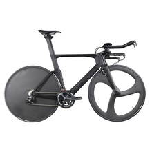 ICAN high-end quality full carbon TT/time trial/triathlon race bike