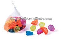 fruit shaped plastic ice cubes