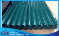 PPGI corrugated steel sheet for roofing construction building metal
