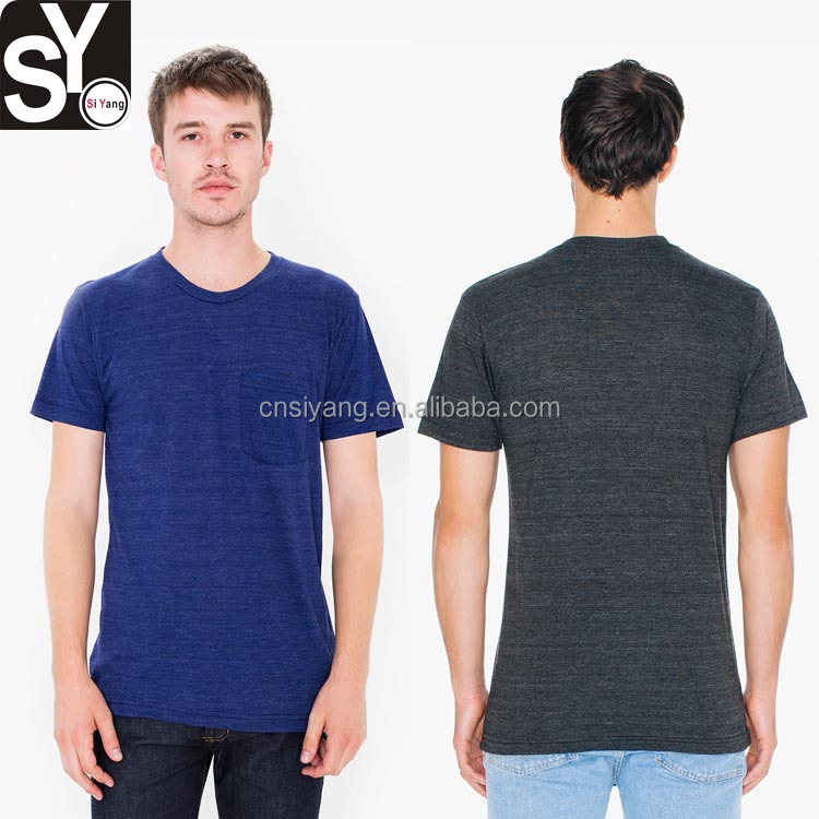 2017 fashion plain 100% cotton organic menswear t shirts