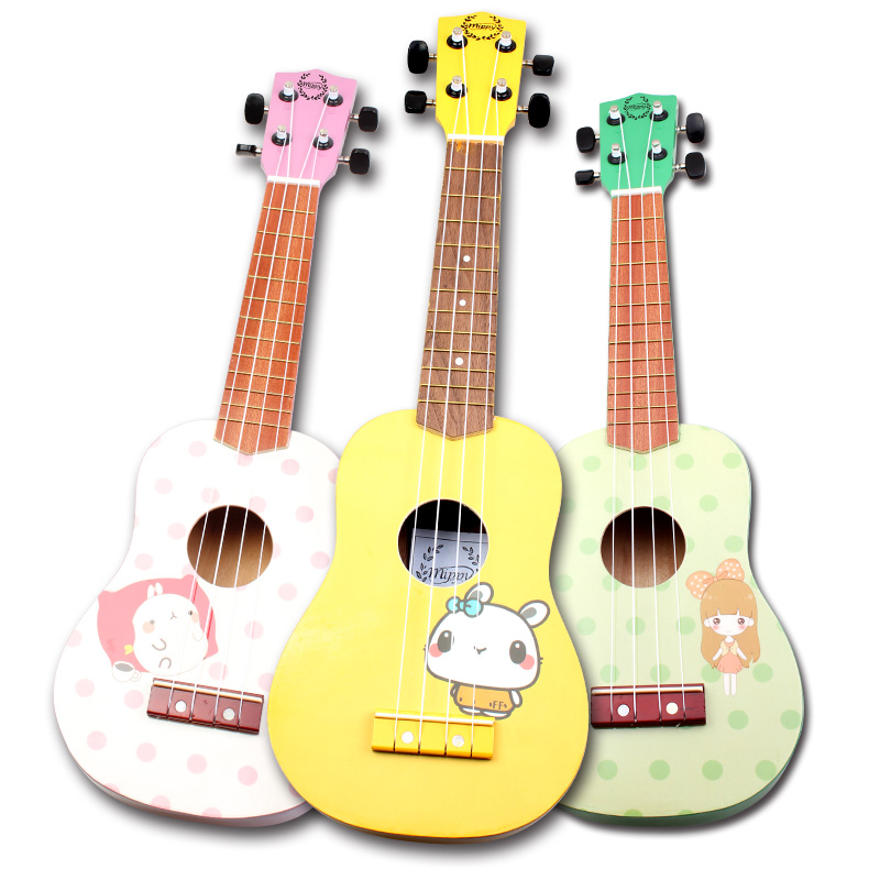 JDR-21 inch cartoon picture ukulele,high quality with suitable price hot sale ukulele wholesale