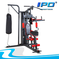 2016 china factory fitness strengh equipment 4 station exercise machine home gym for sale