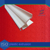custom pvc curtain strips/ plastic angle trim/ greenhouse plastic