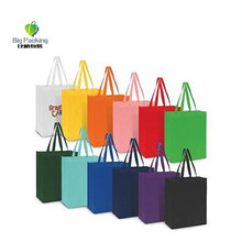 Bulk Enviro Reusable Shopping Green Eco Friendly non woven tote bags in bulk