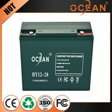 Superior great power 12V nimh 20ah dry cell battery ups