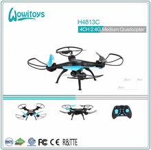 Newest radio control toy 2.4G RC quadcopter with multiple function manufactured in Shantou