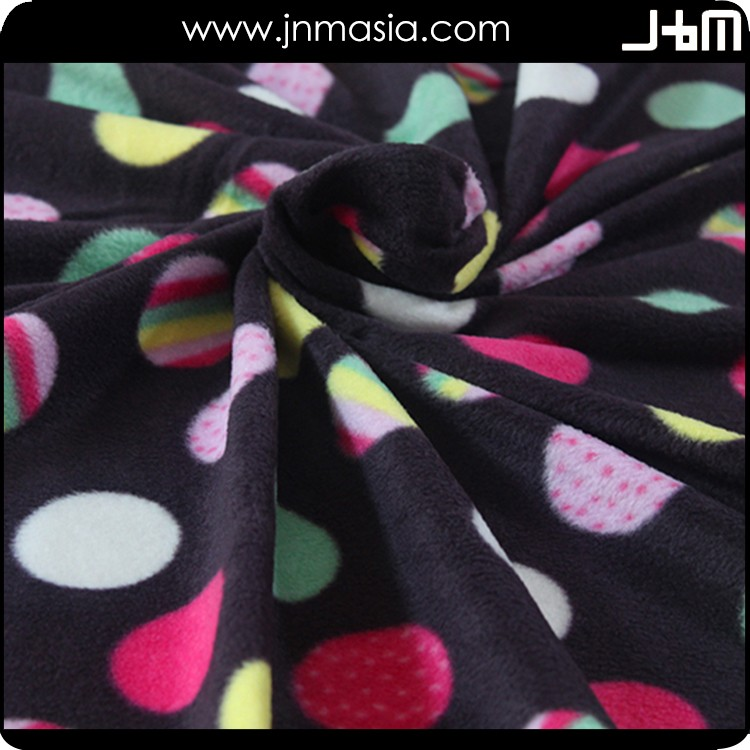 Cheap fabric from china,newest printed polar fleece fabric