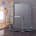 Hinge Door 2 Person Pentagon Shower Enclosure (KK8019)