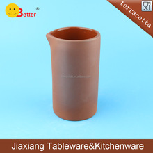 MINI terracotta tea cup without handle home ornament