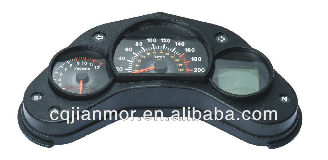 LCD display digital meter for motorcycle/ATV speedometer for XGJ827 I for Brazil South America