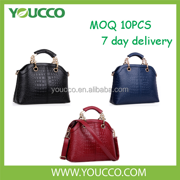 Popular european women 2015 factory direct pricing for designer handbag