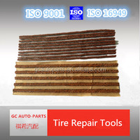 100*6mm brown or black rubber tire repair Seal strings