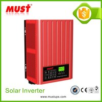 MUST Off On Grid Tie Pure Sinewave Solar System Connection 3KW Solar Inverter