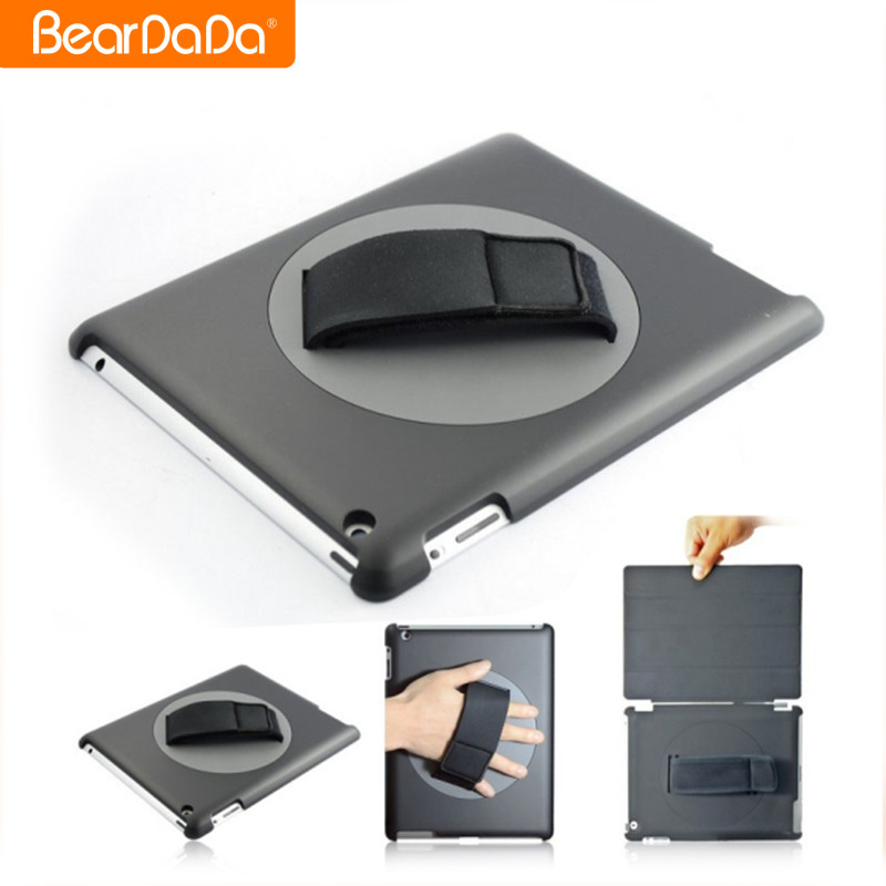 Hand Strap Rotate 360 Degrees for ipad air 2 protective cover case,for ipad air 2 smart cover