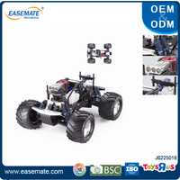 Hot sale 1:8 nitro gas rc car with double engine