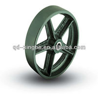 customized casting parts antique iron wheels