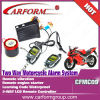 CFMC09 Good quality two way motorcycle alarm system new lcd alarm for sale